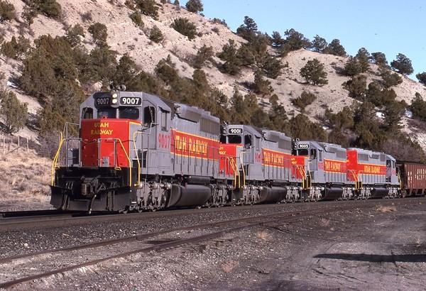 Dean Gray, Utah Railway Photos