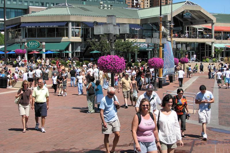 2007-08-18   Baltimore - Marie & Pat