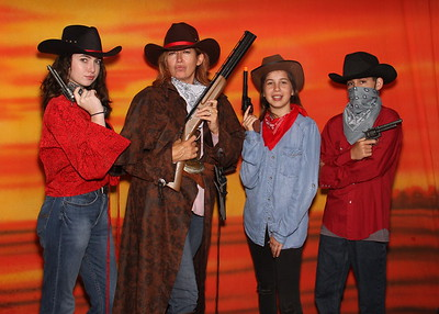 Cowboy Photo Booth Samples