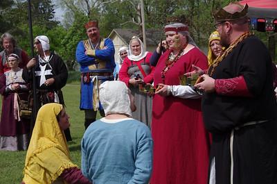 Coronation of King James