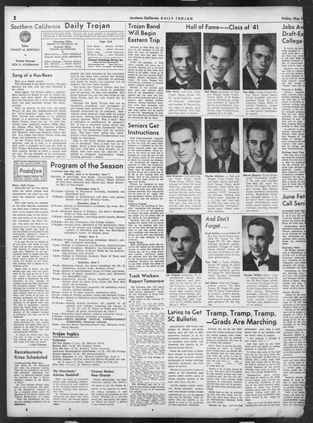 Daily Trojan, Vol. 32, No. 148, May 23, 1941