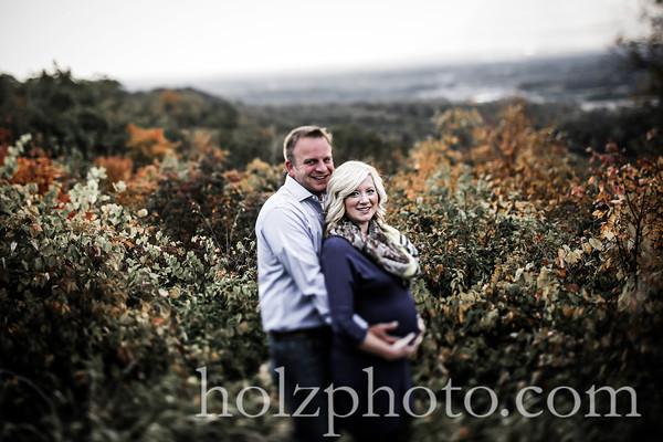 JoBeth & John Creative Maternity Photos