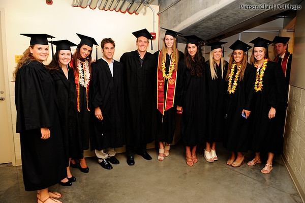 USC Student Athlete Graduation 2011 - RipsIt
