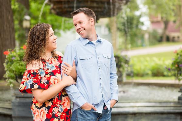 Brad and Georgianna- Engagement
