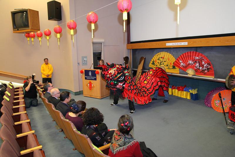 2013-02-28 BIDMC Chinese New Year Celebration (with Kai)