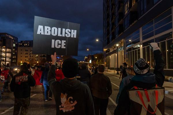 2020 10 14 MIRAC Protest DACA TPS DED Klobuchar's Office