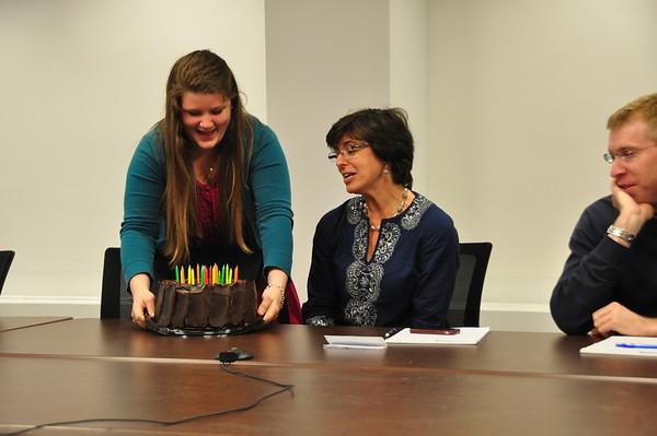 Danielle's birthday at POGO