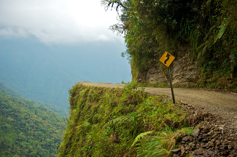 South America Adventure Death Road Bolivia