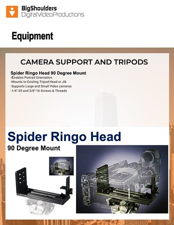 Camera Support & Tripods