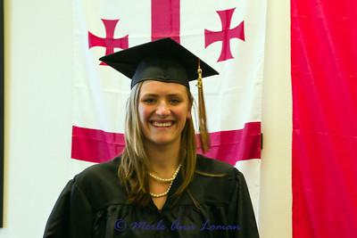 May 2011 Jessa's Asian Studies graduation ceremony