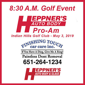 Heppner's Pro-Am 8:30 Golf Event, May 3, 2019