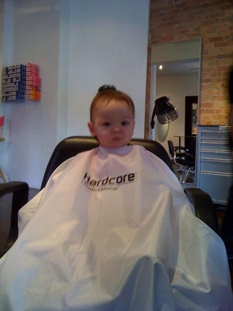 Keira Haircut #2