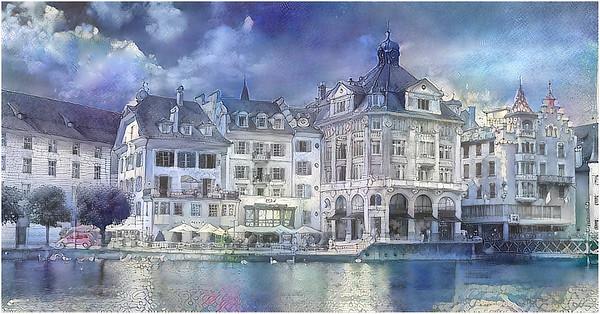 Switzerland - Luzern Fantasy