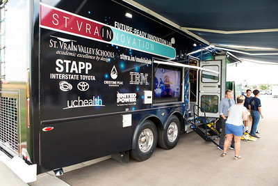 2019 St Vrain - Mobile Lab Ribbon Cutting