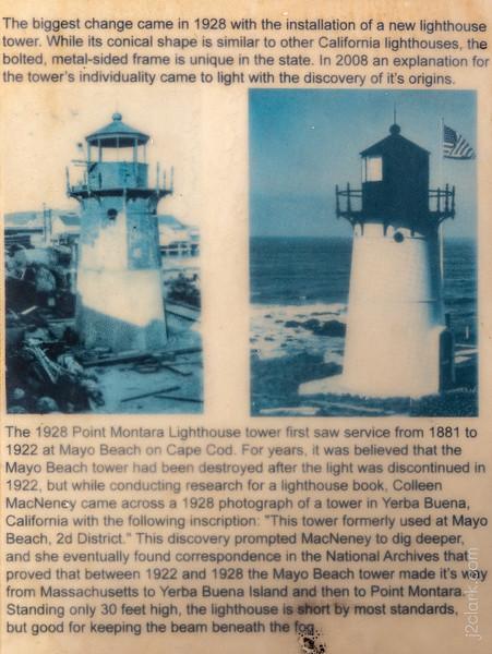 Montara Lighthouse History - Panel 9