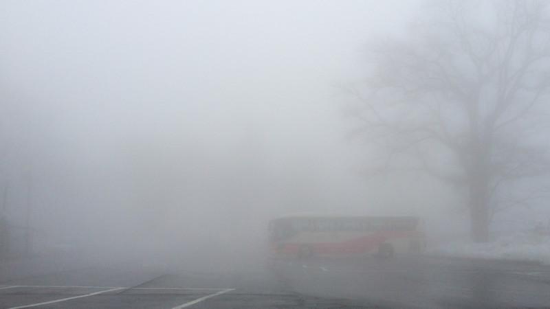 Fog in Nikko