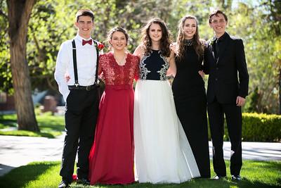 2018 Ashlyn Prom pics
