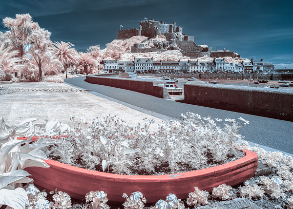 Jersey in Infrared