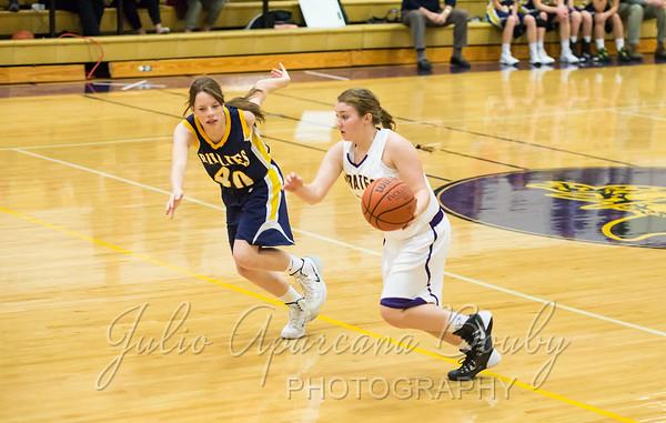 140104 MHS Girls JV Basketball vs Pleasant Hill