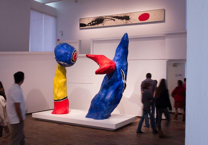 Barcelona, Joan Miro Museum.