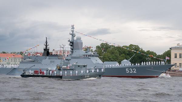 Navy Parade Rehearsal 2020
