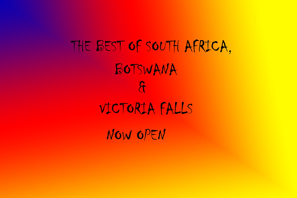 THE BEST OF SOUTH AFRICA, BOTSWANA & VICTORIA FALLS