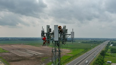 5G Cell Tower Work