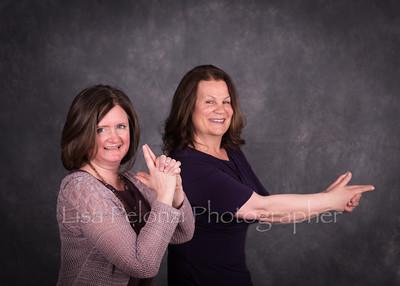Iris and Jen Team photo