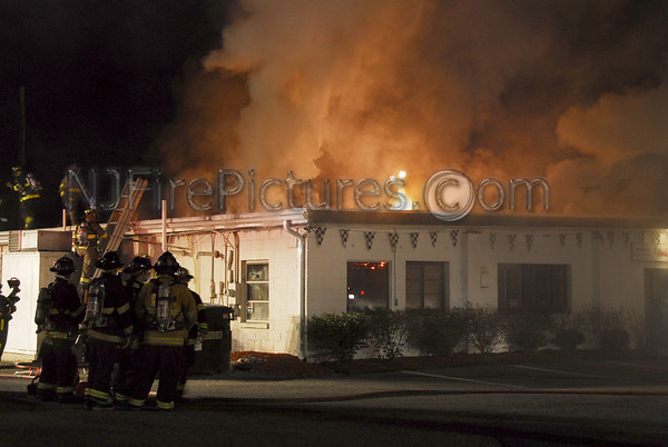 Blairstown, NJ 3rd Alarm at 124 Route 94 (Winners Circle BBQ) 9/30/2007