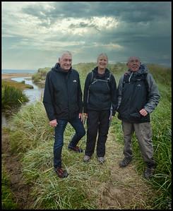 110 - Druridge Bay Beach Walk, Northumberland, UK - 2020.