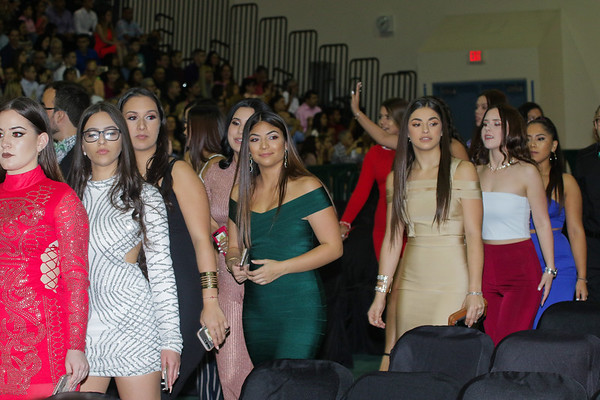 Hialeah Gardens Class of 2019 Ring Ceremony 2/15/18