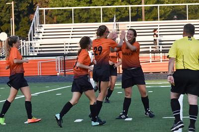 2018 Girls Varsity game vs Orange 8/27/18