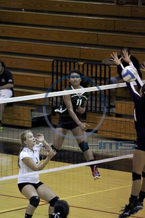 Konawaena Girls Volleyball - Wai 10-31-13