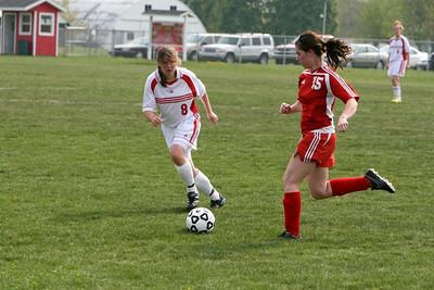 Girls JV Soccer - 4/30/2010 Whitehall