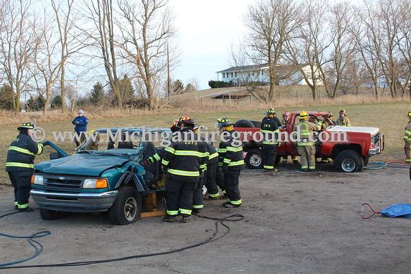 3/19/18 - Eaton Rapids Twp extrication training