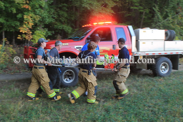 9/18/17 - Eaton Rapids Twp search & rescue training