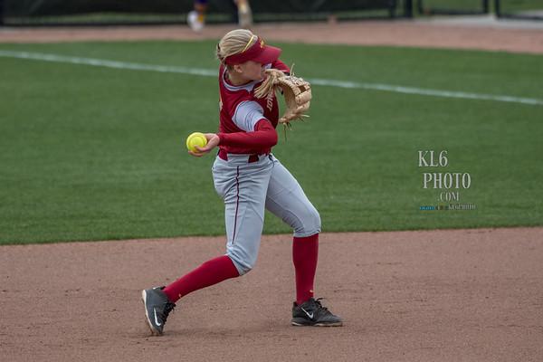 ISU Softball vs UNI 04/26/17