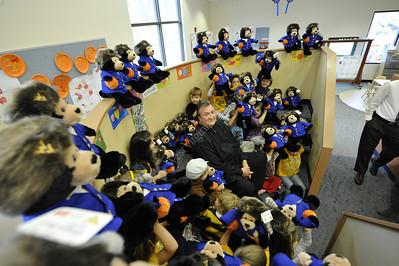 28005 WVU Bear Care Project Bob Huggins November 2011