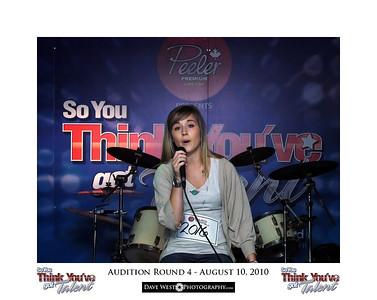 Audition Round 4 - August 10, 2010