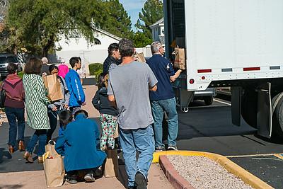 2019 Thanksgiving Food Bag Distribution