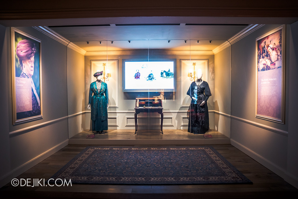 Downton Abbey The Exhibition - Violet Crawley Countess Dowager Room