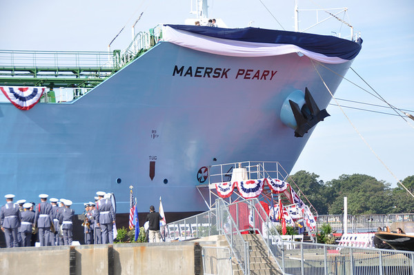 Maersk Peary Christening-Norfolk-9-30-11
