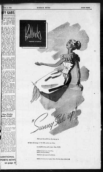 Summer News, Vol. 1, No. 17, August 02, 1946