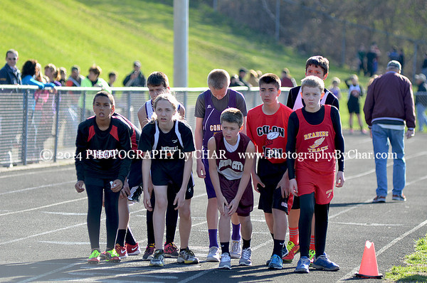 Middle School & Jr High Track