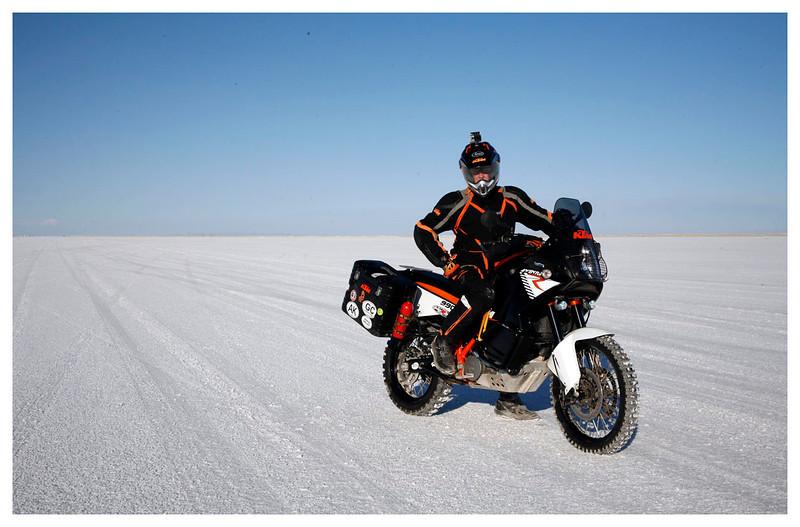 KTM on the Salt Flats 2013