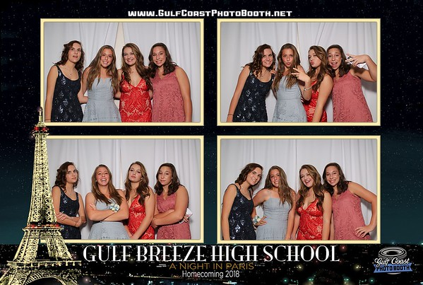 Gulf Breeze High School Homecoming 2018