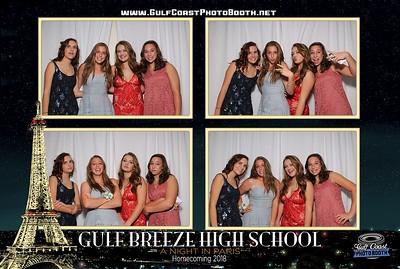 Gulf Breeze High School Homecoming 2018