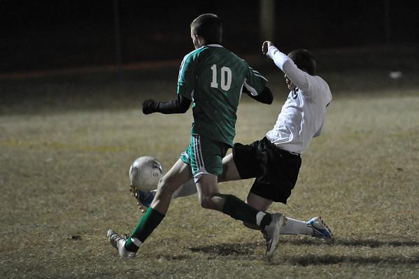 Lincolnton vs North Davidson Soccer Playoffs Nov. 6, 2010