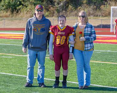 Ross 6th Grade football and Cheer 19-1013