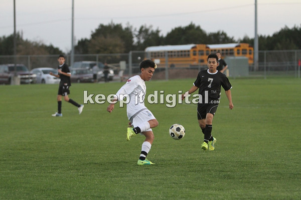 Eastside vs Reagan Boys Soccer 3-2-12